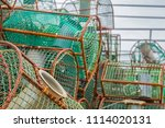 close up of old and rusty... | Shutterstock . vector #1114020131