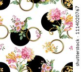 flowers pattern.for textile ... | Shutterstock . vector #1114020767