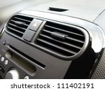 air conditioner in compact car   Shutterstock . vector #111402191