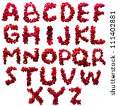 Alphabet Letter A   Z Made Fro...