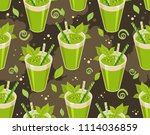 vector image of a seamless... | Shutterstock .eps vector #1114036859