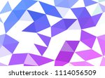 light pink  blue vector blurry... | Shutterstock .eps vector #1114056509