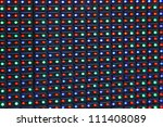 close up shot of commercial rgb ... | Shutterstock . vector #111408089