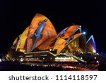 sydney  new south wales  ... | Shutterstock . vector #1114118597