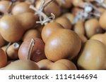 Ripe Yellow Gourd  Ornament