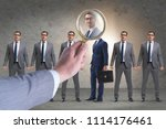 recruitment and employment... | Shutterstock . vector #1114176461