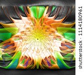 3d rendering of plastic...   Shutterstock . vector #1114180961