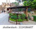 cebu city  philippines   june... | Shutterstock . vector #1114186607