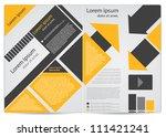 corporate business brochure... | Shutterstock .eps vector #111421241