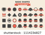 vintage retro vector logo for... | Shutterstock .eps vector #1114236827