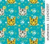 80s 90s style seamless pattern... | Shutterstock .eps vector #1114242557