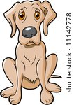 doggy with cute eyes. | Shutterstock .eps vector #11142778