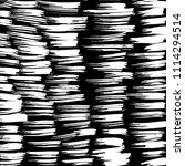 line pattern. brush. vector....   Shutterstock .eps vector #1114294514