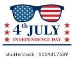 happy independence day banner... | Shutterstock .eps vector #1114317539