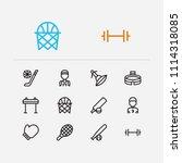 lifestyle icons set. horse...