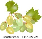 vector  llustration with green... | Shutterstock .eps vector #1114322921