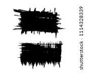 vector set of grunge brush...   Shutterstock .eps vector #1114328339