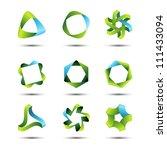 design elements | Shutterstock .eps vector #111433094
