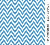 chevron seamless pattern  blue... | Shutterstock .eps vector #1114334477