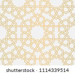 background with seamless... | Shutterstock .eps vector #1114339514