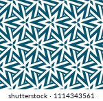 seamless pattern with symmetric ... | Shutterstock .eps vector #1114343561
