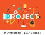 thin line design concept for... | Shutterstock .eps vector #1114348667
