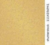 gold background. birds in...   Shutterstock .eps vector #1114356941