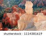 bryce canyon national park ... | Shutterstock . vector #1114381619