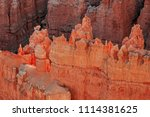 bryce canyon national park ... | Shutterstock . vector #1114381625