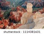 bryce canyon national park ... | Shutterstock . vector #1114381631