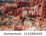 bryce canyon national park ... | Shutterstock . vector #1114381649