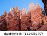 bryce canyon national park ... | Shutterstock . vector #1114381709