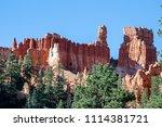 bryce canyon national park ... | Shutterstock . vector #1114381721