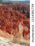 bryce canyon national park ... | Shutterstock . vector #1114381739