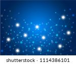abstract internet connection... | Shutterstock .eps vector #1114386101