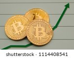 conceptual cryptocurrency... | Shutterstock . vector #1114408541