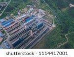 aluminum metallurgical plant... | Shutterstock . vector #1114417001