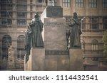 prague  czech republic  june.05.... | Shutterstock . vector #1114432541