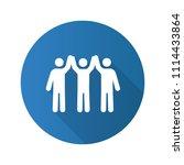 charity organization flat... | Shutterstock .eps vector #1114433864