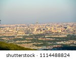 overlooking the cityscape of... | Shutterstock . vector #1114488824