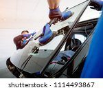 automobile special workers... | Shutterstock . vector #1114493867