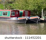 canal  barge  lock | Shutterstock . vector #111452201
