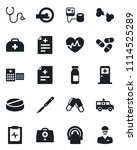set of vector isolated black...   Shutterstock .eps vector #1114525289
