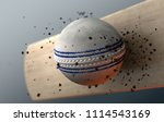 an extreme closeup slow motion...   Shutterstock . vector #1114543169