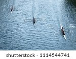 overhead view of three four... | Shutterstock . vector #1114544741