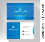 business model name card luxury ... | Shutterstock .eps vector #1114556534