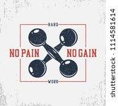 typography for bodybuilding t...   Shutterstock .eps vector #1114581614