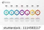 infographic design template.... | Shutterstock .eps vector #1114583117