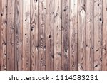 the texture of the wooden fence....   Shutterstock . vector #1114583231