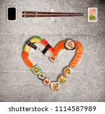 Traditional Japanese Sushi...